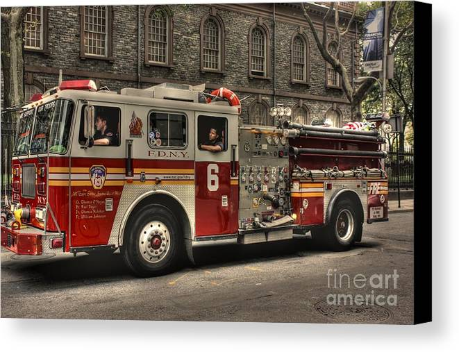 New York Canvas Print featuring the photograph All Gave Some - Some Gave All by David Bearden