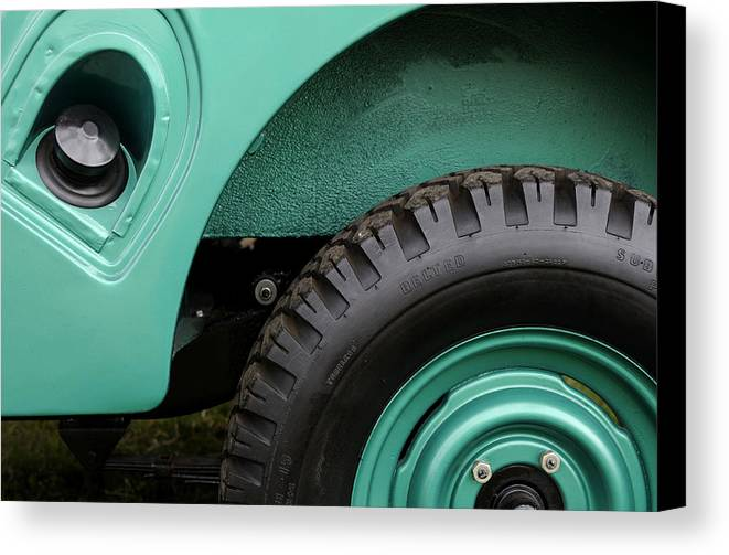 Jeep Canvas Print featuring the photograph American Heritage by Luke Moore