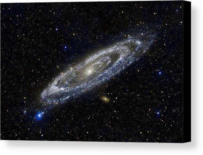3scape Photos Canvas Print featuring the photograph Andromeda by Adam Romanowicz
