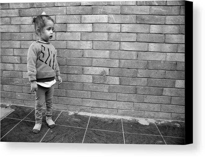 Jezcself Canvas Print featuring the photograph Anyone Else Coming by Jez C Self