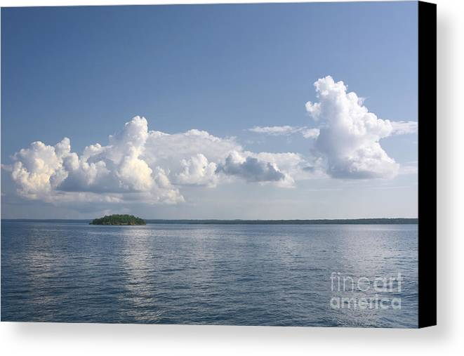 Cloud Canvas Print featuring the photograph Aotearoa by Charline Xia