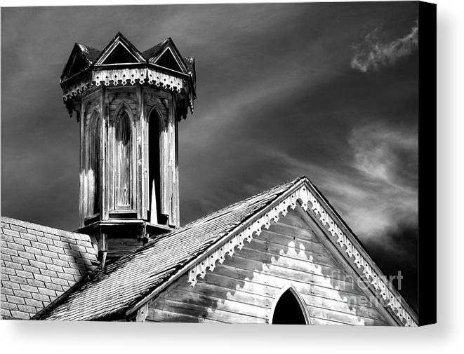 Infrared Canvas Print featuring the photograph Barn Detail by Paul W Faust - Impressions of Light