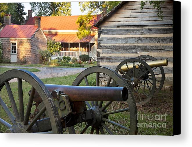 Carter Canvas Print featuring the photograph Battle Of Franklin by Brian Jannsen