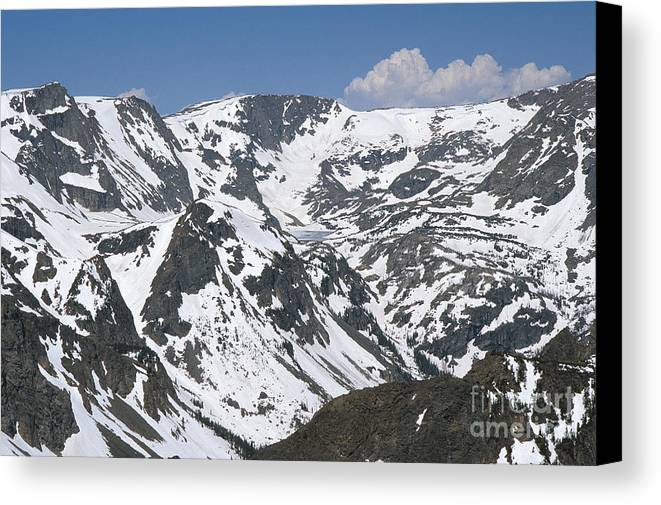 American Canvas Print featuring the photograph Beartooth Wilderness by Chris Selby