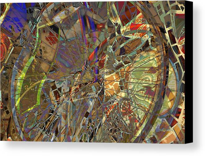 Bicycle Canvas Print featuring the photograph Bike Trip by Nanette Emerle
