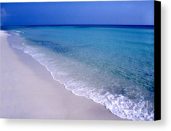 Florida Canvas Print featuring the photograph Blue Mountain Beach by Thomas R Fletcher