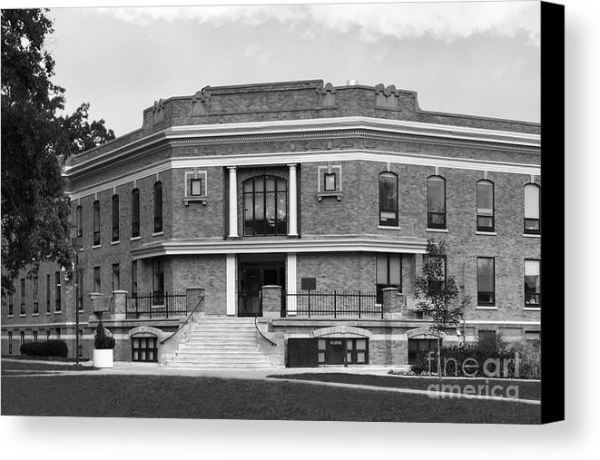 American Canvas Print featuring the photograph Bowling Green State University Williams Hall by University Icons