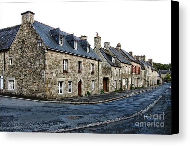 France Canvas Print featuring the photograph Brittany by Olivier Le Queinec