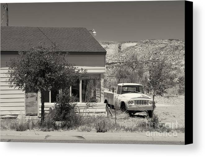 Cars Canvas Print featuring the photograph Broken Dreams by Juergen Klust