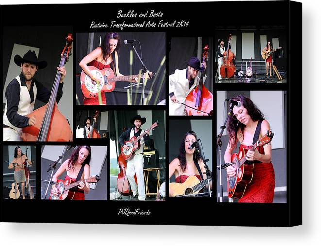 Buckles And Boots Rw2k14 Canvas Print featuring the photograph Buckles And Boots Rw2k14 by PJQandFriends Photography