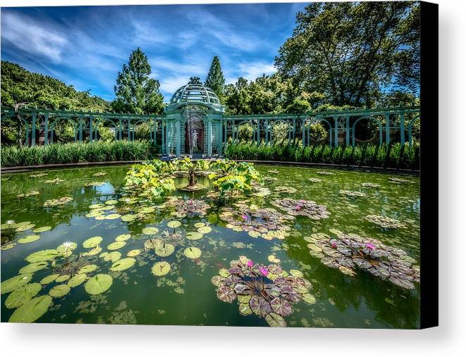 Garden Canvas Print featuring the photograph Bucolic by Linda Karlin