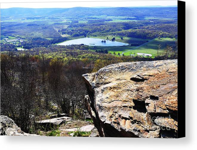 Canaan Valley Canvas Print featuring the photograph Canaan Valley From Valley View Trail by Thomas R Fletcher