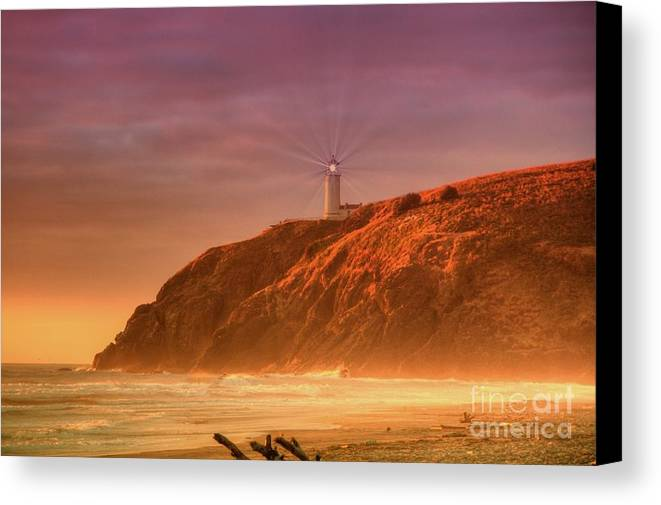 Storm Canvas Print featuring the photograph Cape Disappointment After The Storm by Larry Whiting