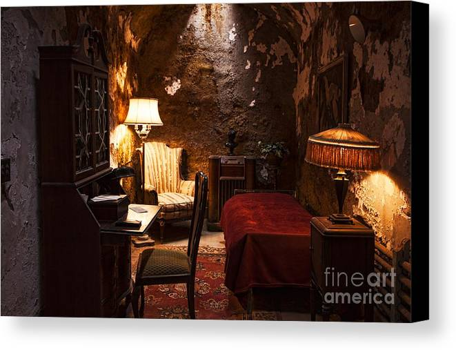 Al Capone Canvas Print featuring the photograph Captive Luxury by Andrew Paranavitana