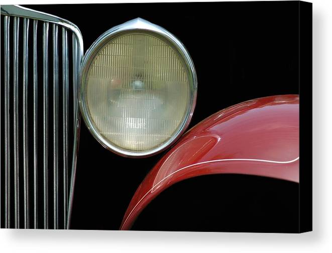 Car Canvas Print featuring the photograph Car Parts by Dan Holm