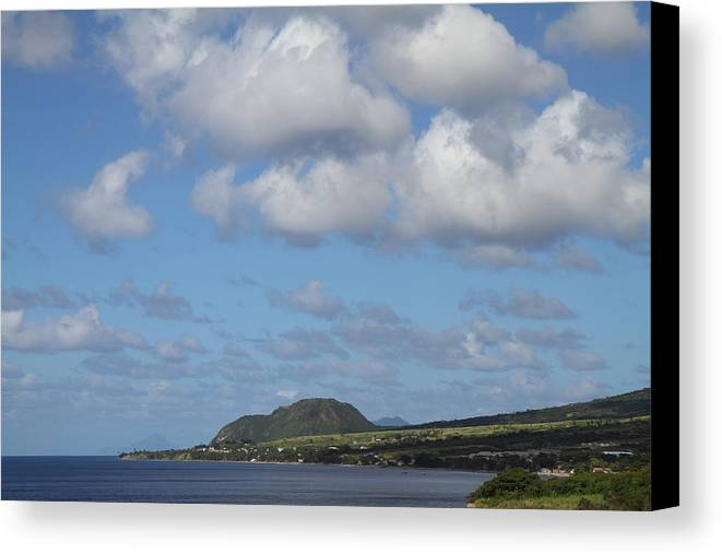 Cruise Canvas Print featuring the photograph Caribbean Cruise - St Kitts - 1212156 by DC Photographer