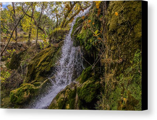 Arbuckle Mountains Canvas Print featuring the photograph Centered Beauty by Justin Marre