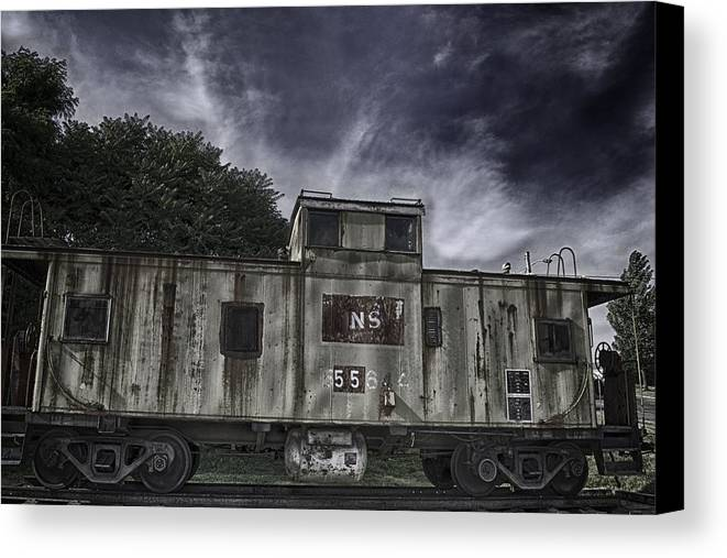 Transportation Canvas Print featuring the photograph Changes by Mike Waddell