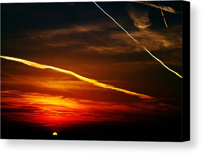 Sunset Canvas Print featuring the photograph Chapter Xvii by Dan Lavric