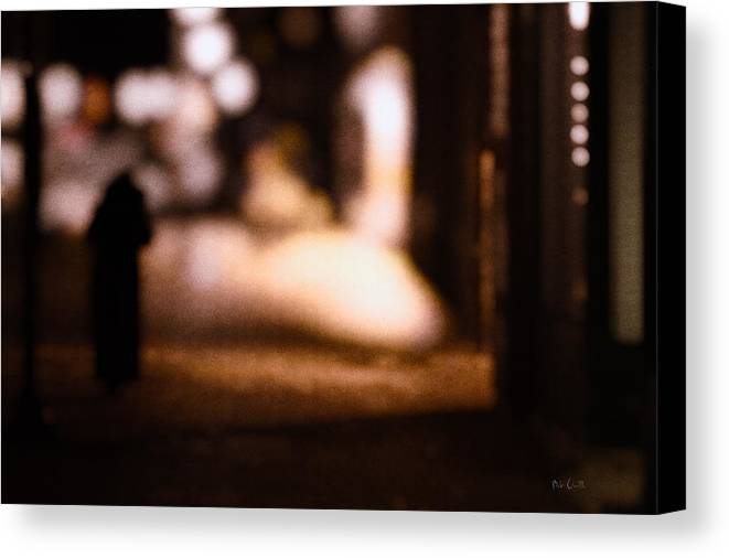 Impressions Canvas Print featuring the photograph City Nights by Bob Orsillo