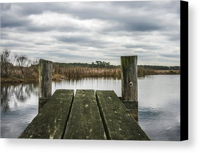 Landscape Canvas Print featuring the photograph Clear View by Steven Taylor