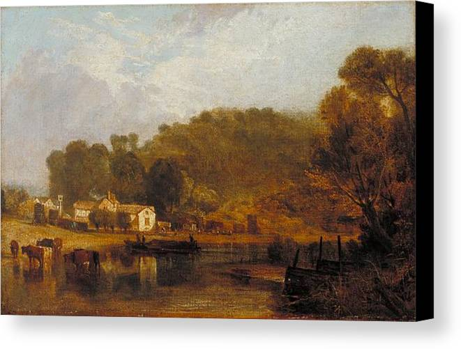 1807 Canvas Print featuring the painting Cliveden On Thames by JMW Turner