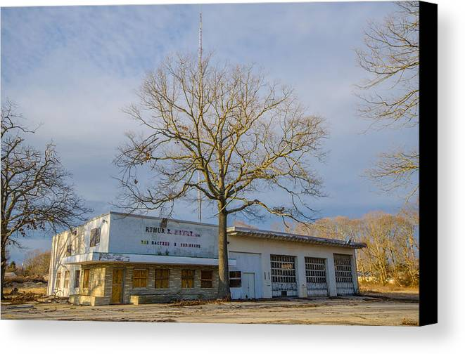 Abandoned Canvas Print featuring the photograph Closed For Business by Kevin Jarrett