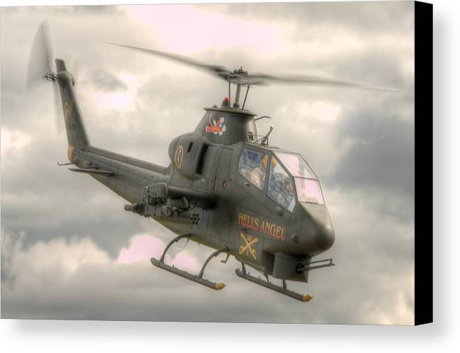 Air Cavalry Canvas Print featuring the photograph Cobra by Jeff Cook
