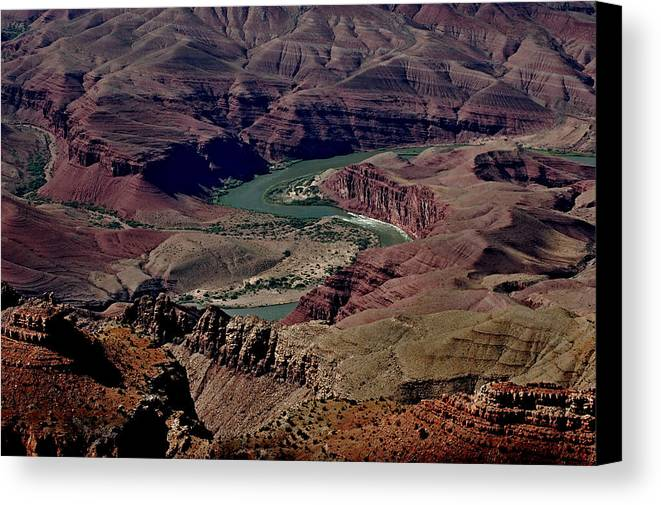 Grand Canyon Canvas Print featuring the photograph Colorado River by See My Photos