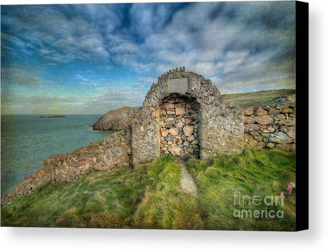 Anglesey Canvas Print featuring the photograph Consecrated 1535 by Adrian Evans