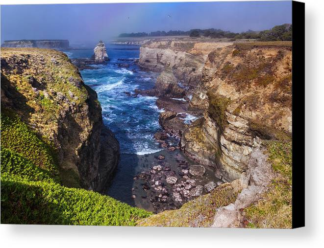 Cove Canvas Print featuring the photograph Cove On The Mendocino Coast by Kathleen Bishop