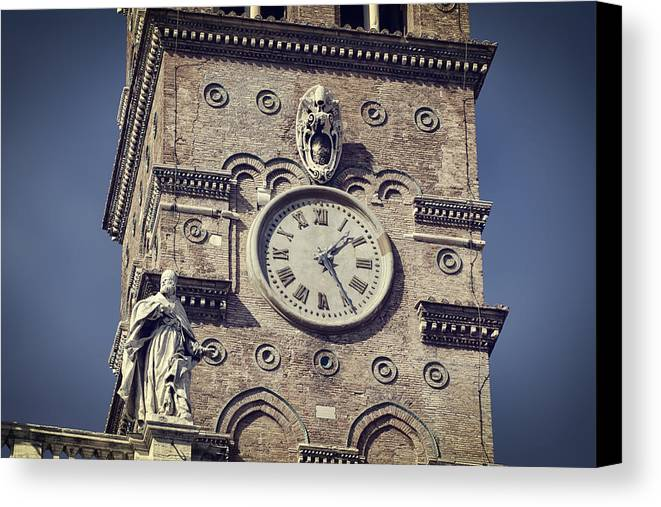 Ancient Canvas Print featuring the photograph Daily Rhythms by Joan Carroll