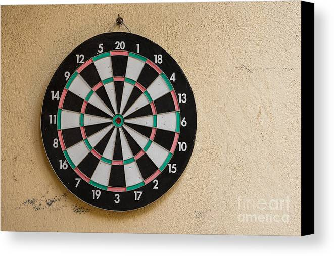 Accuracy Canvas Print featuring the photograph Darts by Stefano Carocci