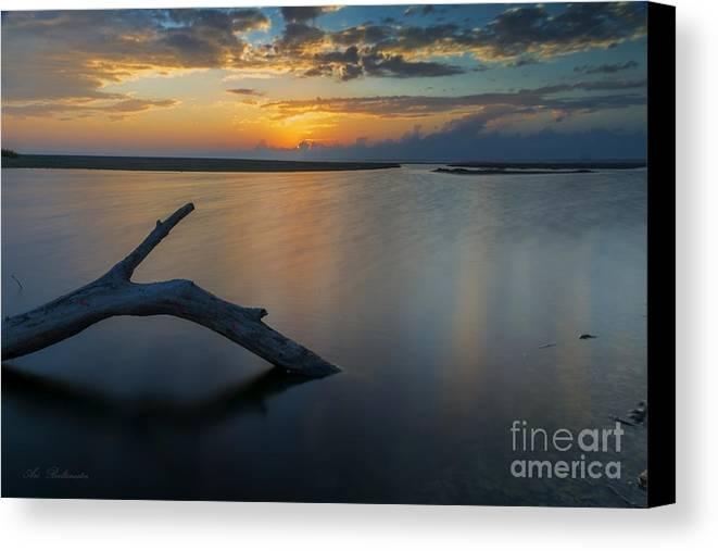 Sunset Canvas Print featuring the photograph Dreamy Sunset by Arik Baltinester
