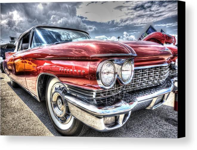 Classic Car Canvas Print featuring the photograph El Dorado by Armando Perez