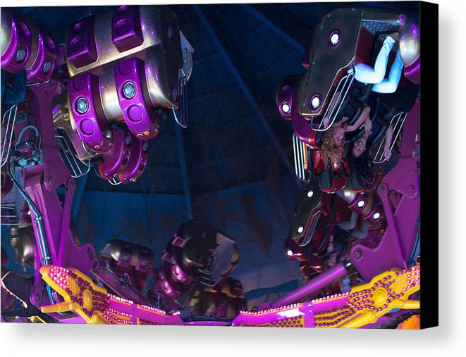 Fairground Canvas Print featuring the photograph Fairground Attraction by Frank Gaertner