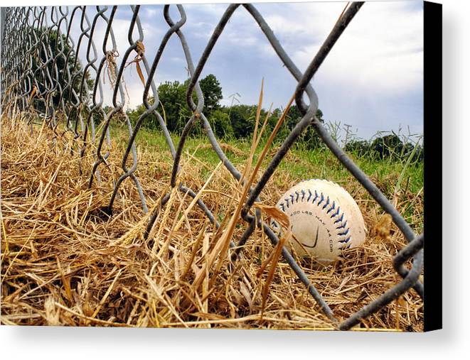 Baseball Canvas Print featuring the photograph Field Of Dreams by Jason Politte