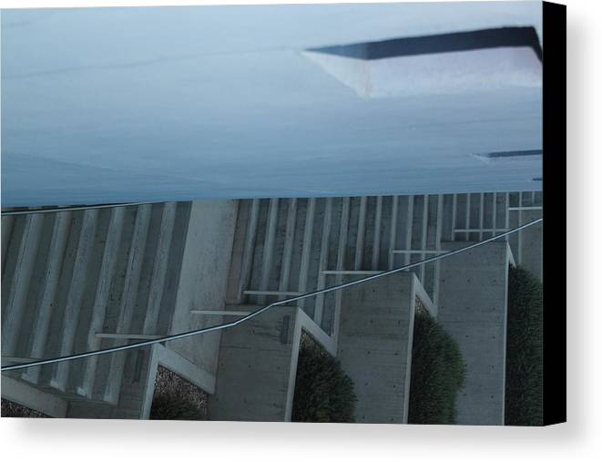 Stairs Canvas Print featuring the digital art Follow Me by Paige White