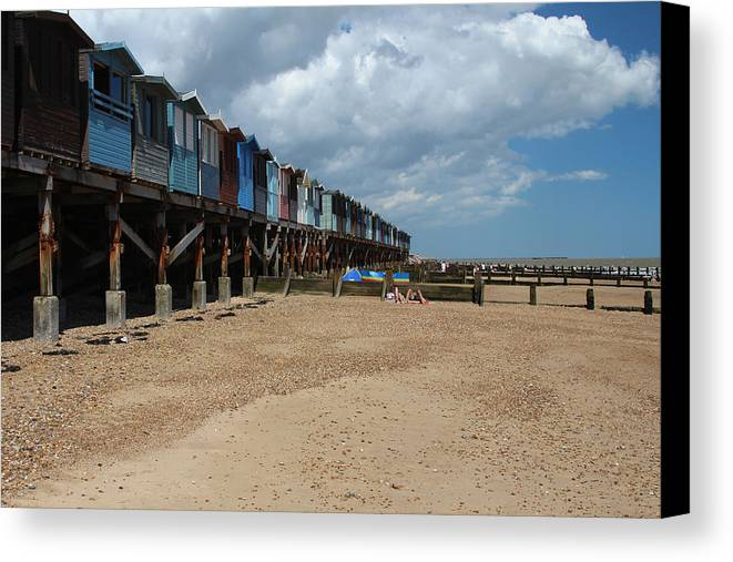 Essex Canvas Print featuring the photograph Frinton-on-sea Essex Uk by Ash Sharesomephotos