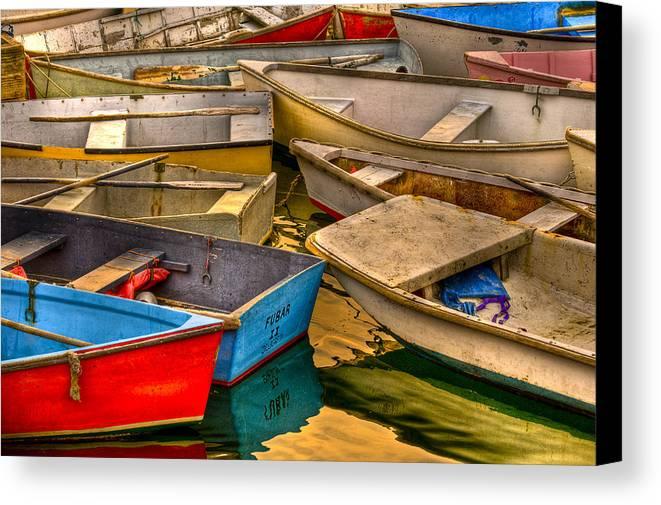 Boat Canvas Print featuring the photograph Fubar II by Scott Slattery