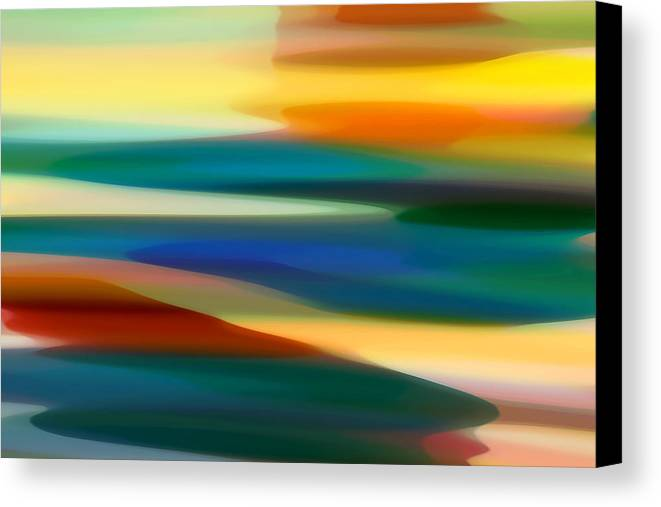 Bold Canvas Print featuring the painting Fury Seascape 7 by Amy Vangsgard