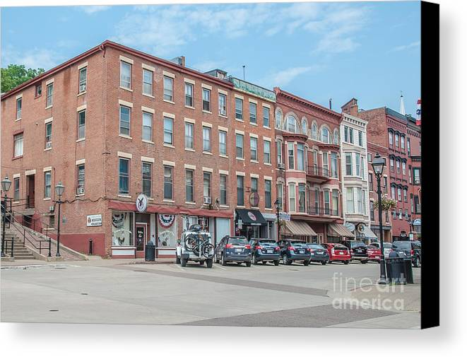 Galena Canvas Print featuring the photograph Galena Illinois by Amel Dizdarevic