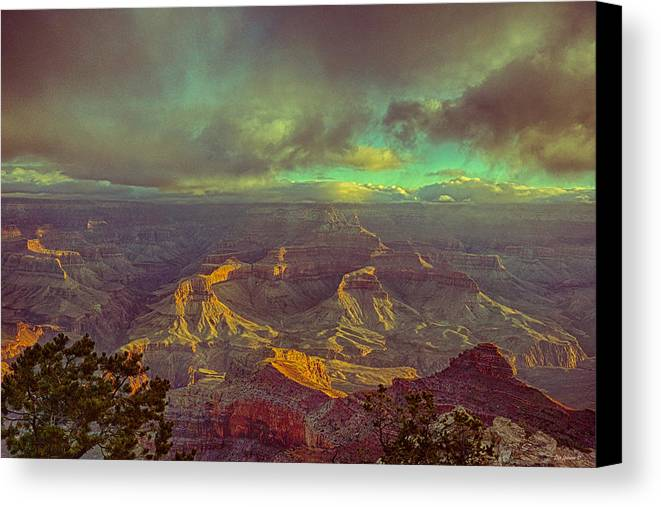 Grand Canyon Canvas Print featuring the photograph Gentle Sunrise Over The Canyon by Lisa Spencer