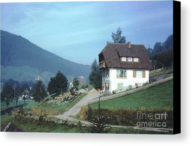 Germany Canvas Print featuring the photograph German Country Home by Ted Pollard