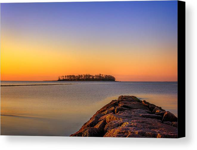 Tide Canvas Print featuring the photograph How To Get There by Lechmoore Simms