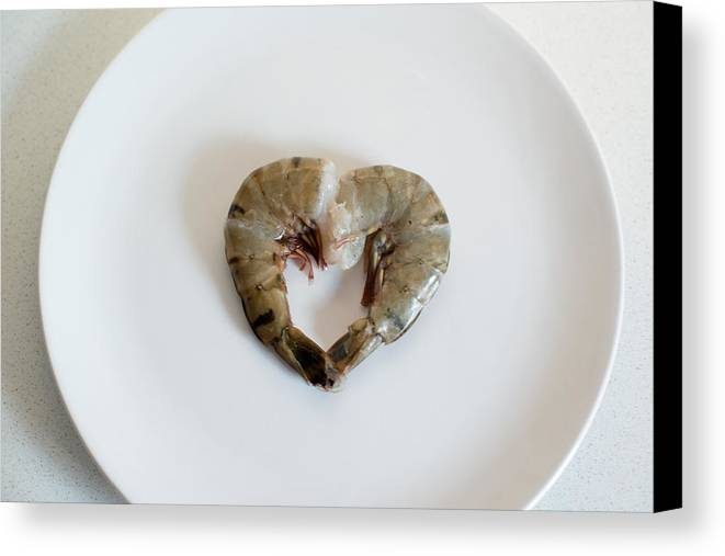 Seafood Canvas Print featuring the photograph I Love Seafood by Frank Gaertner