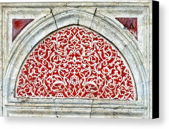 Art Canvas Print featuring the photograph Islamic Art 04 by Antony McAulay