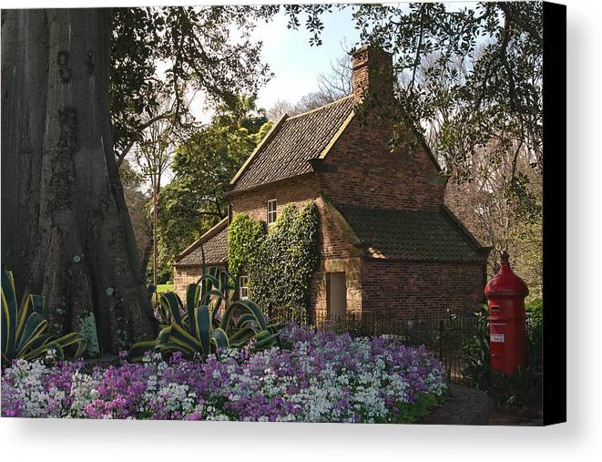 Australia Canvas Print featuring the photograph James Cook's Cottage by View Factor Images