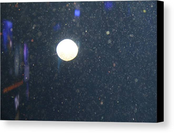 Inner Canvas Print featuring the photograph Jellyfish - National Aquarium In Baltimore Md - 121237 by DC Photographer