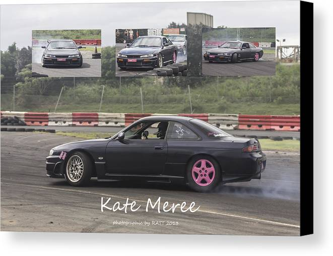 Cars Canvas Print featuring the photograph kate Meree by Michael Podesta